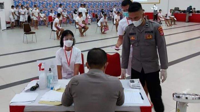 Seleksi Penerimaan Anggota Polri Polda Kalteng, 18 Calon Taruna Tidak Memenuhi Syarat Kesehatan
