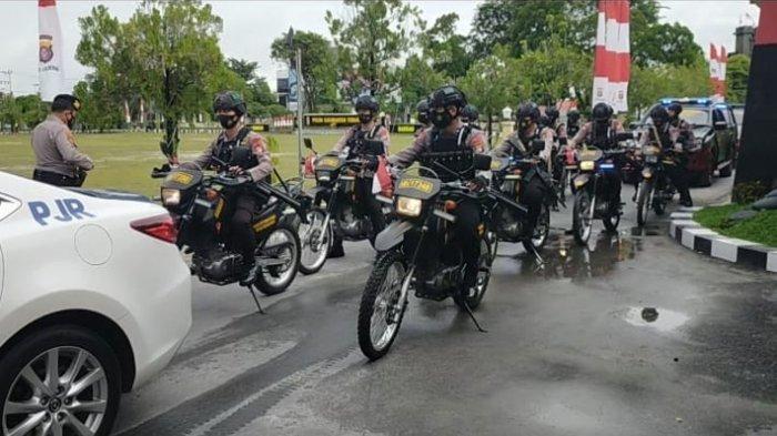 Polda Kalteng Tingkatkan Patroli Kamtibmas Tempat Keramaian Pascabom Bunuh Diri Makassar