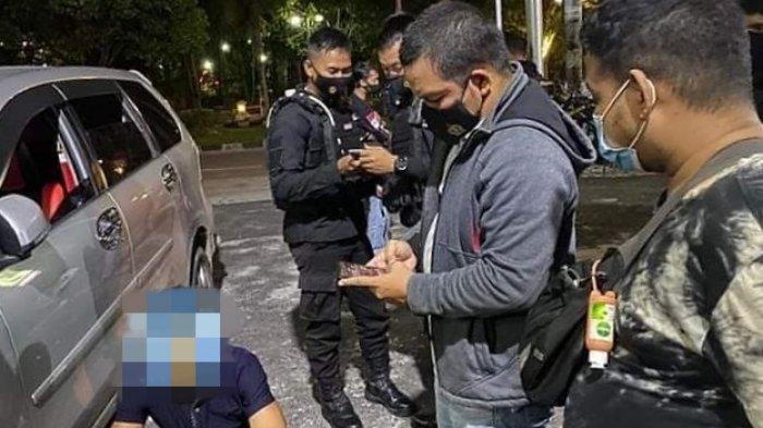 Polisi Amankan Pasangan LGBT Bermesraan Dalam Mobil di Stadion Senaman Mantikai Palangkaraya