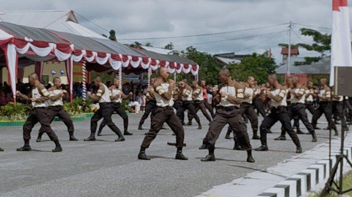 Puluhan Perwira Pertama Polda Kalteng Dilantik Secara Virtual Tahun 2020