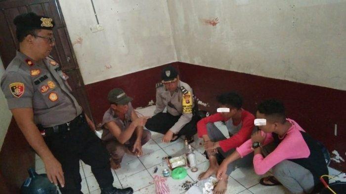 Warga Ketakutan, 2 Pemuda Mabuk Miras Mengamuk Sambil Bawa Sajam, Polisi Palangkaraya Bertindak