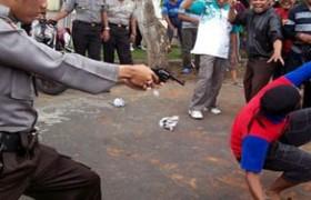Polisi Tembak Dua Pelaku Perampokan Pendulang Emas di Kapuas, Begini Pengakuannya