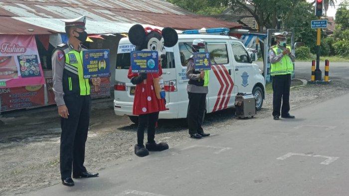 Polres Kapuas Laksanakan Pengamanan Pergeseran Kotak Suara ke Gudang Logistik KPU