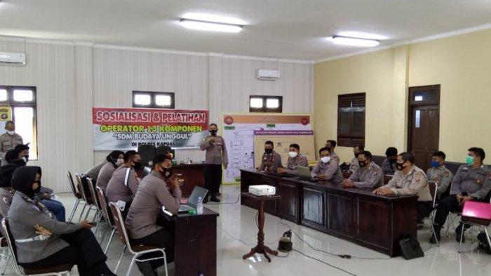 Bagsumda Kapuas Gelar Sosialisasi dan Pelatihan Operator 13 Komponen SDM Budaya Unggul