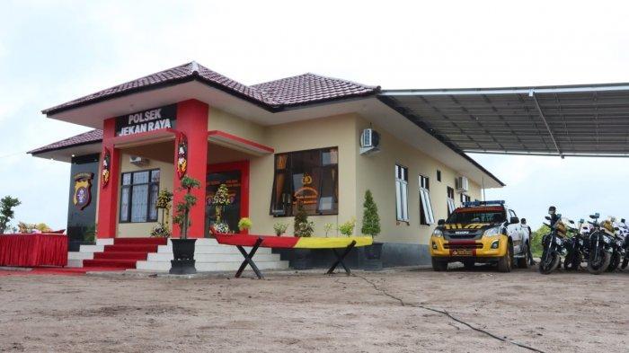 Kecamatan Jekanraya Palangkaraya Kalteng Kini Memiliki Polsek Sendiri