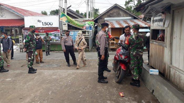 Tim Gabungan di Kapuas Barat Laksanakan Operasi Yustisi, Tegur Warga Tak Bermasker
