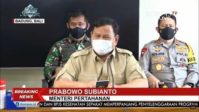 Menhan Prabowo Subianto Berduka, Saudaranya Ikut Gugur dalam Tragedi Tenggelamnya KRI Nanggala-402