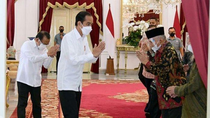 Inilah Bantahan Jokowi soal Jabatan Tiga Periode dan Peringatan kepada Amien Rais