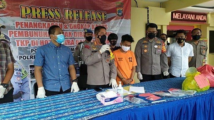 Pelaku Pembunuhan Cewek 14 Tahun di Mira Hotel Banjarmasin Diringkus Polisi, Begini Kronologisnya