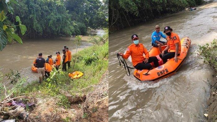 Tenggelam di Sungai Tapin, Celana Bocah Ini Ditemukan 15 Meter dari Titik Nol Kejadian