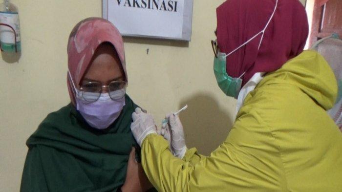 Wabah Corona Kalsel, Vaksinasi Covid-19 Tenaga Kesehatan di Banjarmasin Sudah 86 Persen