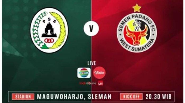 Live Streaming PSS Sleman vs Semen Padang FC di Shopee Liga 1 2019 Pekan 2, Live Indosiar
