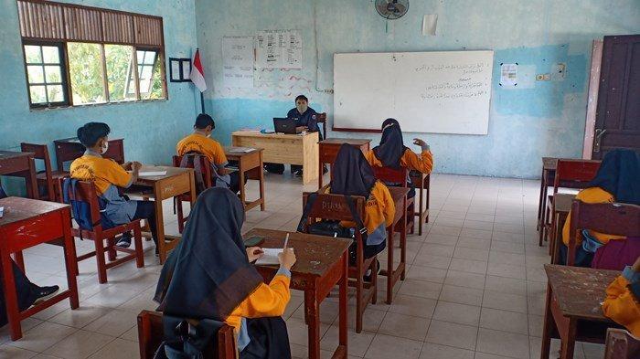 10 Hari Pelaksanaan PTM Terbatas di SMK Al-Ishlah Palangkaraya Berjalan Lancar