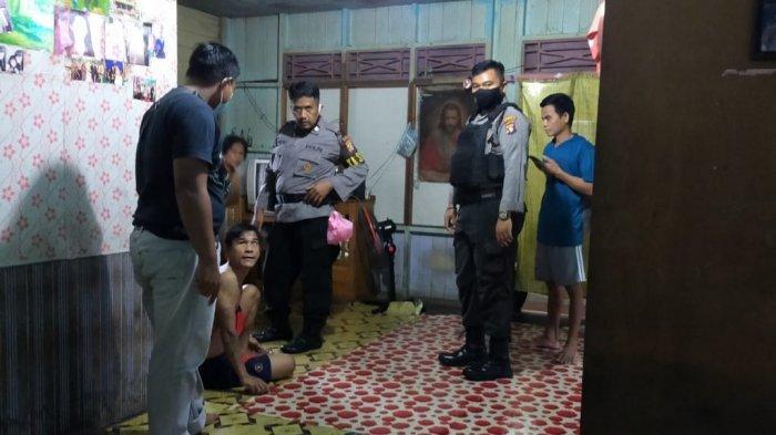 Pukul Ponakan, Sudirman Diamankan Petugas Polresta Palangkaraya