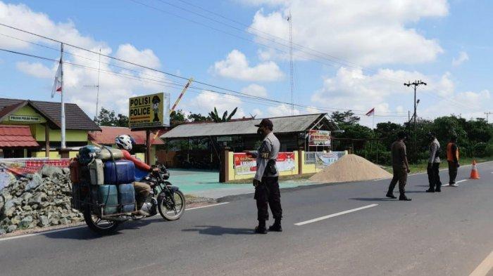Operasi Yustisi, Razia Masker Dilaksanakan di Pulau Petak Kapuas