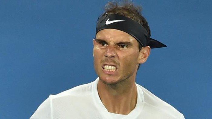 Nadal Tunda Penampilan Gara-gara Alami Infeksi Telinga