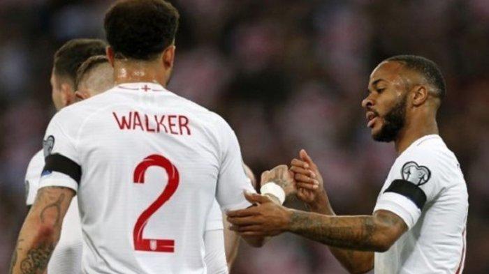 Timnas Inggris Menang 5 Gol, Raheem Sterling Hat-trick di Kualifikasi Piala Eropa 2020