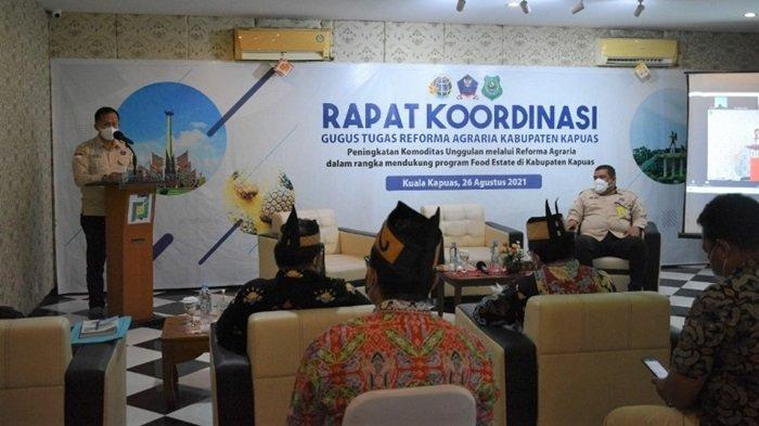 Tim GTRA Kabupaten Kapuas Gelar Rakor Reforma Agraria, Ini Tujuan yang Diharapkan