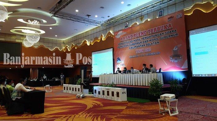 VIDEO KPU Rampungkan Rekapitulasi Pilgub Kalsel, Paslon Paman BirinMu Unggul 8.127 Suara