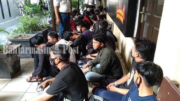 Mau Ikut Demo di DPRD Kalsel, 92 Pelajar Jalani Rapid Test