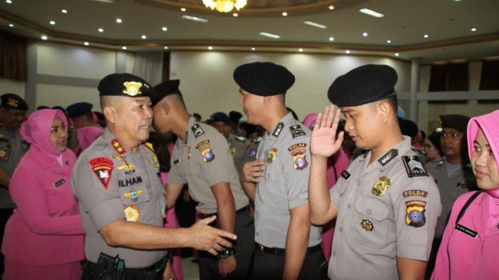 245 Anggota Polda Kalteng Naik Pangkat, Ada 3 Pejabat Naik Setingkat dari AKBP ke Kombes