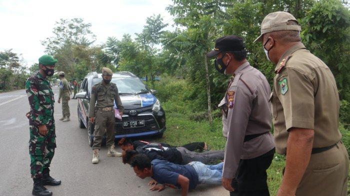 Tim Gabungan Satgas Covid-19 Kapuas Gencar Operasi Yustisi Hingga Razia Masker