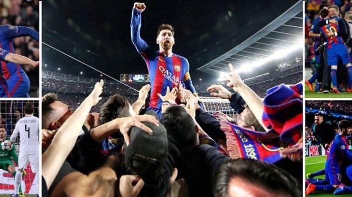 Hasil Lengkap Undian Liga Champions Pertemukan Barcelona vs PSG, Atletico vs Chelsea dll