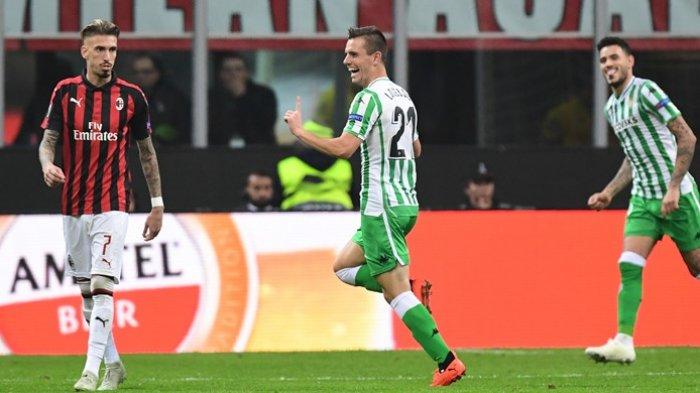 Real Betis Tekuk Tuan Rumah AC Milan Hingga Geser Puncak Klasemen Grup F Liga Europa