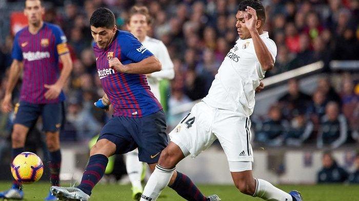 Berebut Juara, Ini 6 Pertandingan Terakhir Real Madrid dan Barcelona di Liga Spanyol 2019/2020