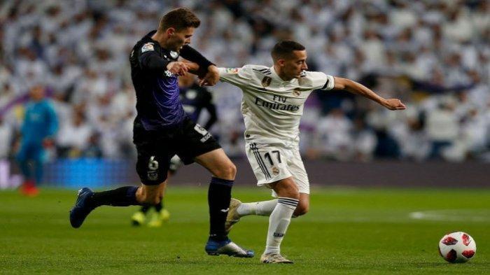 Copa Del Rey, Real Madrid Unggul 1 Gol Atas Leganes Melalui Aksi Penalti