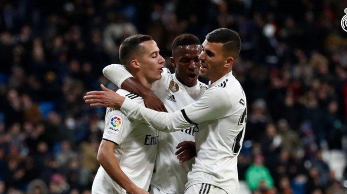 Hasil Copa Del Rey - Real Madrid Menang Telak 3 Gol Tanpa Balas Kontra Leganes