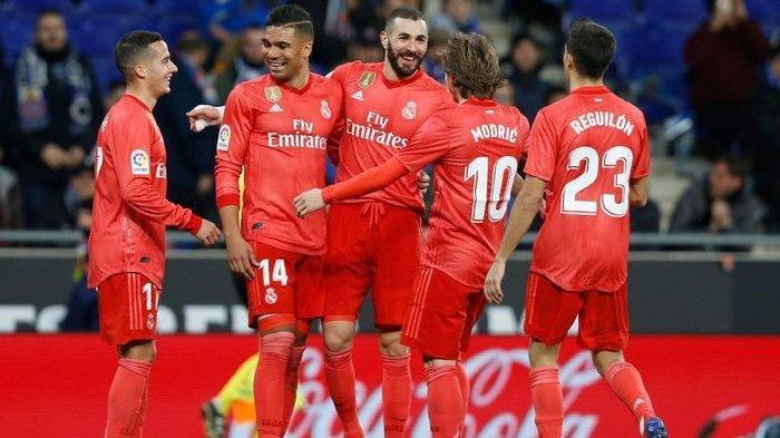 Hasil Liga Spanyol - Real Madrid Tekuk Tuan Rumah Espanyol dengan Skor 4-2 Hingga ke Posisi 3