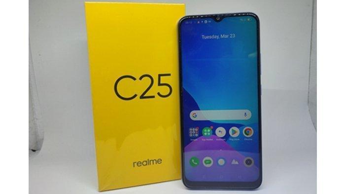 Realme C25, Smartphone Tahan Banting Rp2 Jutaan, Ponsel Gaming Punya Kapasitas Baterai Besar
