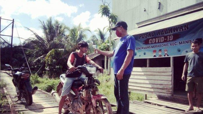 Akses Kalimantan Barat ke Kalimantan Tengah Dijaga Relawan