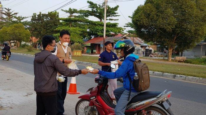 PKS Kalteng Aktif Bantu Pemadaman Kebakaran di Kalteng, 1.000 Masker Dibagikan Gratis