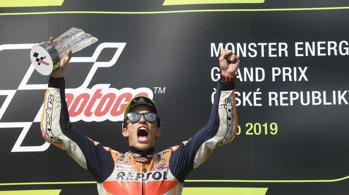 Serie Ke-11 MotoGP Austria 2019 - Pemuncak Klasemen Marc Maquez Hadapi Pebalap Ducati