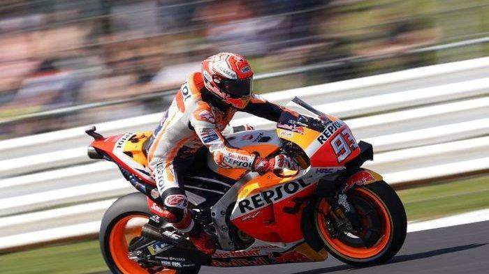 MotoGP Spanyol 2020 : Marc Marquez Fokus Tingkatkan Kinerja Motor di Sirkuit Jerez