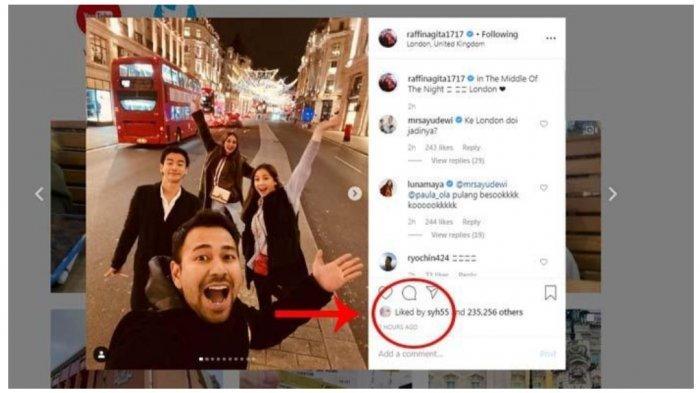 Respons Adik Syahrini Lihat Luna Maya dan Ryochin di Instagram Raffi Ahmad dan Nagita Slavina