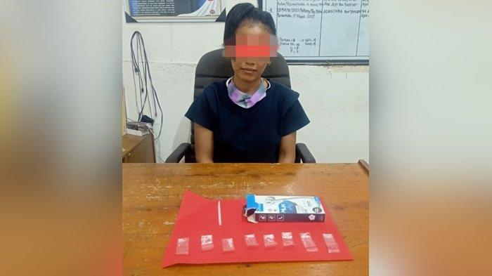 Diduga Edar Sabu, Ibu Muda Warga Kotim Kalteng Diamankan Polisi, 8 Paket Sabu Tersimpan di Lemari