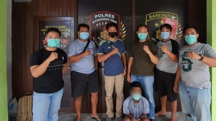 Jual HP Hasil Curian ke Toko Ponsel, Pencuri HP di Kotim Kalteng Ini Ditangkap Polisi
