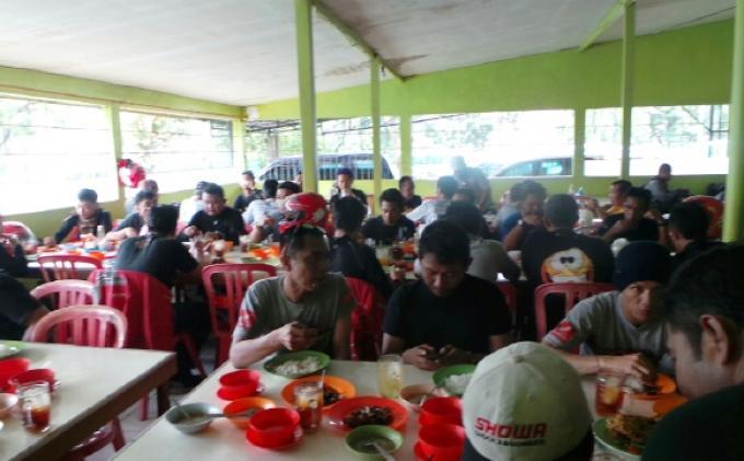 Rider Ekspedisi Nusantara Istirahat di Banjarbaru