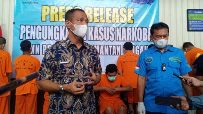 NEWS VIDEO, BNN Provinsi Kalteng Ungkap Tiga Kasus Jaringan Narkoba Lintas Kalimantan