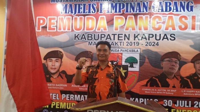 Pemuda Pancasila Kapuas Dukung Sugianto Sabran di Pilgub 2020, Usul Cawagub Mantan Kapolres Kapuas