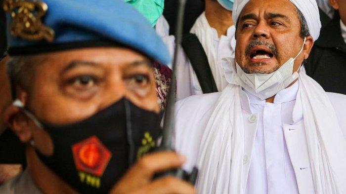 Sidang Memanas, Rizieq Shihab Mengaku Didorong dan Dihinakan