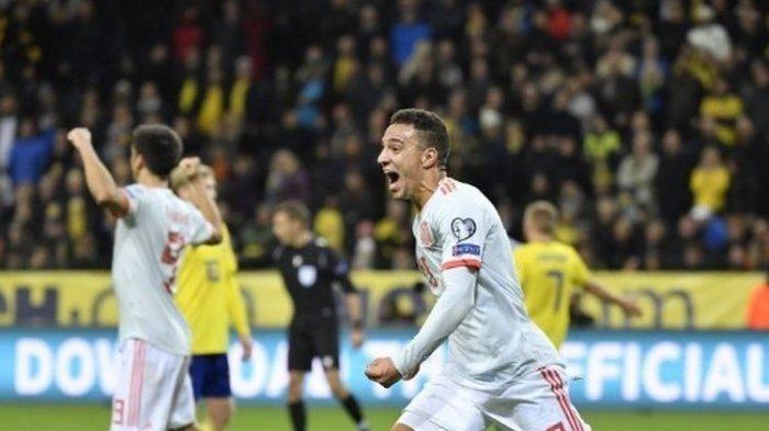 Unggul Head To Head Atas Rumania, Spanyol Lolos ke Final Euro 2020 Usai Bermain Seri Kontra Swedia