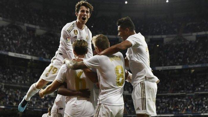 Real Madrid ke Puncak Tangga Klasemen Liga Spanyol Usai Tekuk Tamunya Osasuna 2 Gol Tanpa Balas