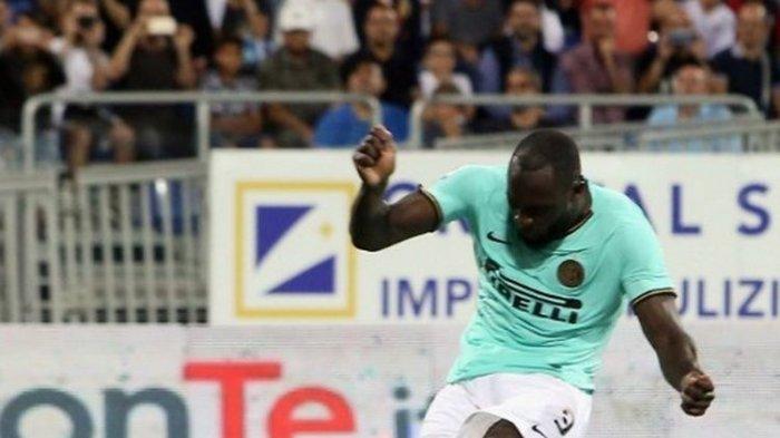 Gol Romelu Lukaku Bawa Inter Milan di Puncak Klasemen Liga Italia Pekan Kedua Usai Kalahkan Cagliari