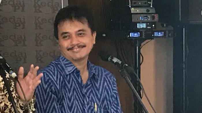 Roy Suryo Ditagih Kembalikan 3.226 Barang Milik Negara