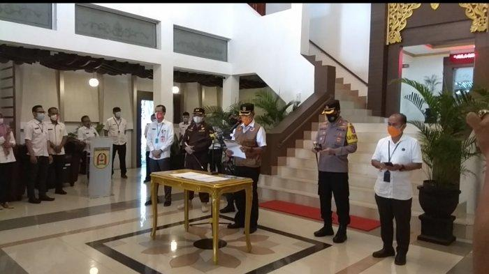 Malam Tahun Baru di Banjarbaru, Aktivitas Warga Dibatasi Hanya Sampai Jam 18.00 Wita