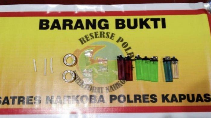Simpan Pahe Sabu, Warga Kapuas Kalteng ini Diamankan Polisi